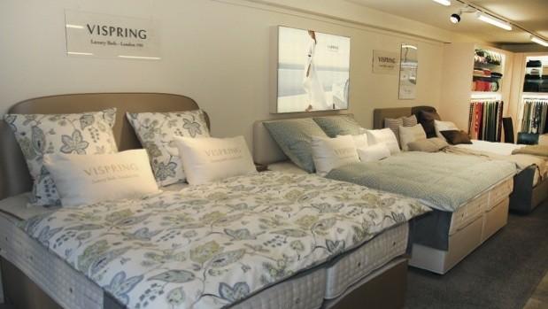 vispring bei betten r ger in n rnberg. Black Bedroom Furniture Sets. Home Design Ideas